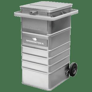 Afsluitbare papiercontainer